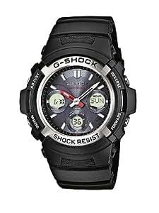 Casio Herren-Armbanduhr XL G-SHOCK Analog - Digital Resin AWG-M100-1AER