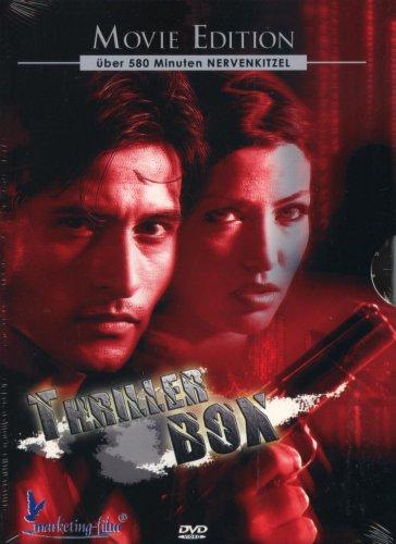 Thriller Box : Beeper - Feedback - Alias - Dhund - Three Below Zero - Dead Ringers - 6 Filme auf 2 DVDs