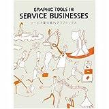 サービス業の案内グラフィックス