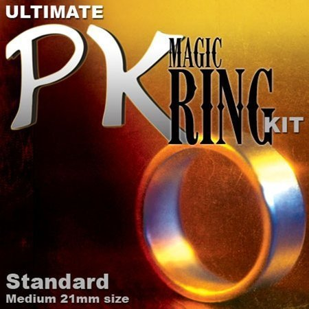 Ultimate Magic PK Ring Kit - Standard with Medium Silver Ring by Magic Makers (Pk Ring compare prices)