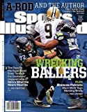 "Sports Illustrated Magazine January 20 2014 Drew Brees Vs Seahawks Cover ""Wrecking Ballers"""