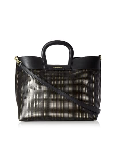 London Fog Women's Olivia Tote, Black As You See