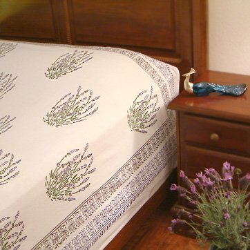 Lavender Dreams ~ French Country Cottage Style Queen Duvet Cover 90X90 front-759362
