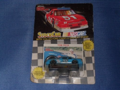 1991 NASCAR Racing Champions . . . Tom Peck THOMAS 1/64 Diecast . . . Includes Collectors Card and Display Stand