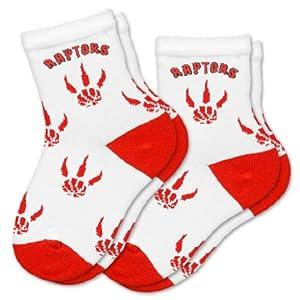 NBA Toronto Raptors Kids Socks, 2-Pack, Child by For Bare Feet