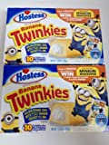 Hostess BANANA Twinkies 10 ct Sponge Cake 13.5 oz (2 Pack)