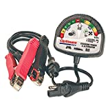 Tecmate Optimate Test - Cranking & Alternator, TS-121, 12V Tester for Battery State of Charge, cranking Performance and Vehicle Charging System.