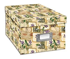Cd/dvd Storage Box - Paris Postale Design