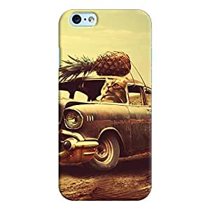 ColourCrust Apple iPhone 6S Mobile Phone Back Cover With Vintage Car - Durable Matte Finish Hard Plastic Slim Case