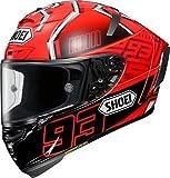 ショウエイ(SHOEI) バイクヘルメット フルフェイス X-Fourteen MARQUEZ4 (マルケス4) TC-1 RED/BLACK M (57cm) -