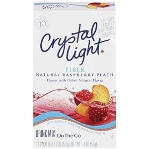 Amazon Com Crystal Light On The Go Fiber Natural