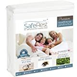 51PRnheTMAL. SL160  Lowest Price Twin Size SafeRest Premium Hypoallergenic Waterproof Mattress Protector   Vinyl Free