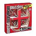 Gigamic - PPMD - Puzzle - Set de 4 trouble M�tal casse-tetes - Difficile