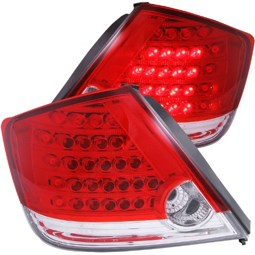 Anzo Usa 321060 Scion Tc Red/Clear Led Tail Light Assembly - (Sold In Pairs)