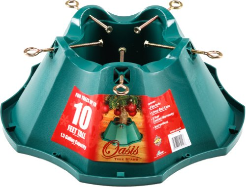 Jack post oasis christmas tree stand for trees up to