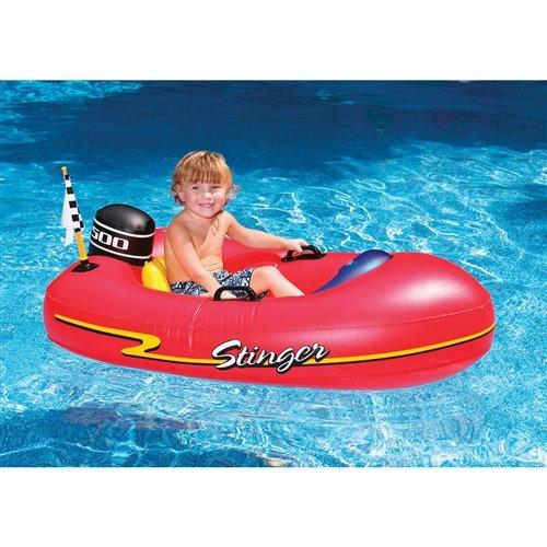 Speedboat Inflatable Ride-On Kiddie