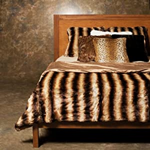 Best Home Fashion 3 Pcs Faux Fur Duvet Cover Set - Chinchilla at Sears.com