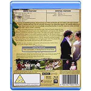 Pride and Prejudice [Blu-ray] [Import anglais]