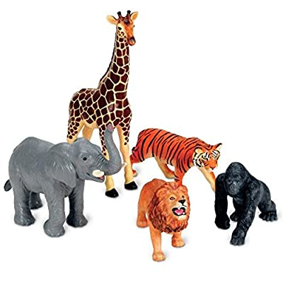 Learning Resources Jumbo Jungle Animals from Learning Resources