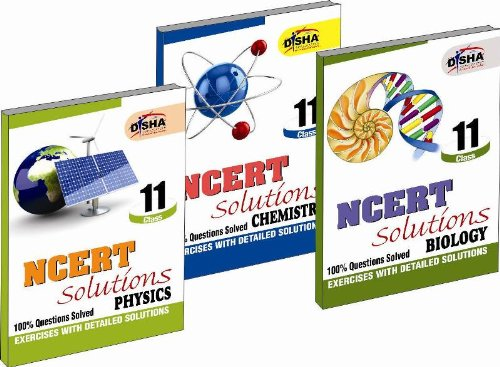 NCERT Solutions Class 11 - PCB (Set of 3 Books)