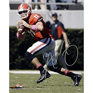 Aaron Murray Georgia Bulldogs Autographed 8