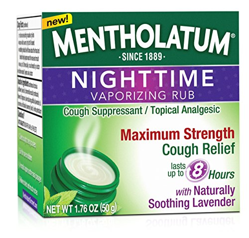 Mentholatum Nighttime Vaporizing Rub Maximum