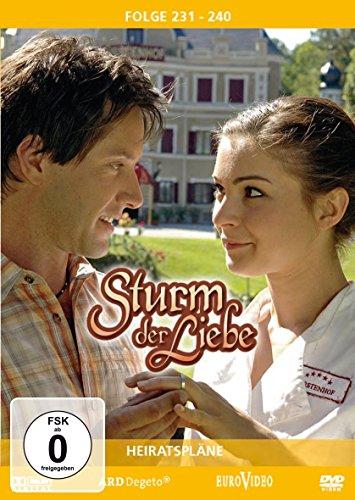 Sturm der Liebe - Folge 231-240: Heiratspläne [3 DVDs]
