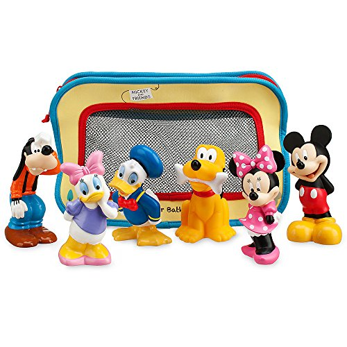 Disney Mickey Mouse and Friends Bath Toys for Baby - 1