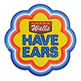 コトワザステッカー《壁に耳あり/Walls HAVE EARS》防水加工STICKER通販