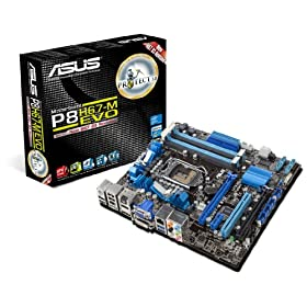 ASUS P8H67-M EVO LGA 1155 SATA 6Gbps and USB 3.0 Supported Intel H67 DDR3 1333 Micro ATX Computer Motherboard Picture