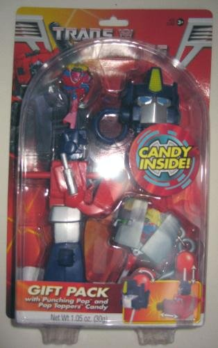 Transformers Gift Pack with punching pop and pop toppers candy