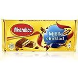 Marabou Original Swedish Milk Chocolate Mjolkchoklad Bar 200g. By Kraft Foods.