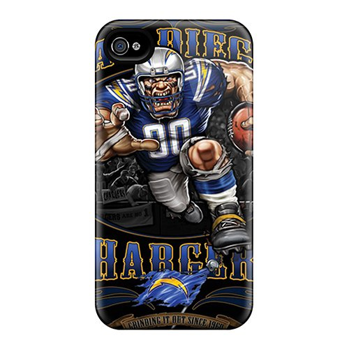 Ntd1184Gebu Case Cover Protector For Iphone 4/4S San Diego Chargers Case