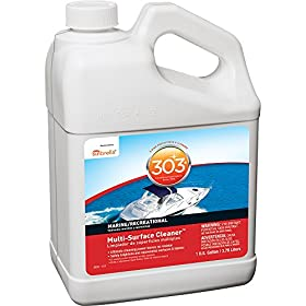 303 Products 30570-4PK Fabric and Vinyl Cleaner - 1 Gallon, (Pack of 4)