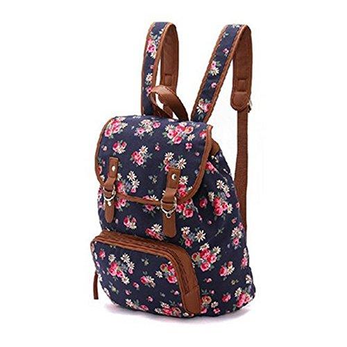 HITOP personalizzati Exclusive accessori delle signore di modo dell'annata di alta qualità zaino borsa di tela camelia borsa a tracolla per il tempo libero zaino
