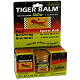 Tiger Balm Ultra Strength Pain Relieving Ointment - 0.63 oz.