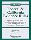 img - for Federal & California Evidence Rules book / textbook / text book