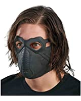 Disguise Men's Marvel Winter Soldier Adult Latex Deluxe Mask Costume Accessory