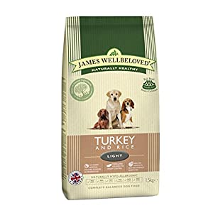 James Wellbeloved Dog Light Turkey and Rice Dry Mix 12.5 kg