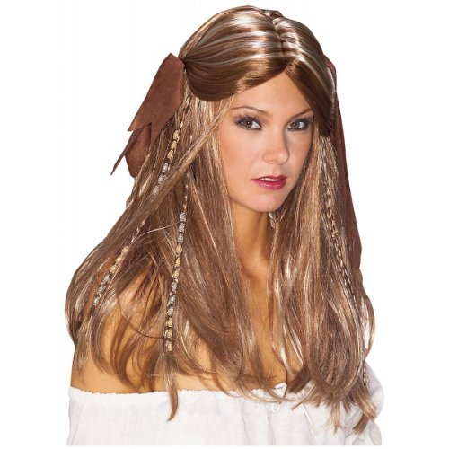 Rubie's Pirate Wench Wig Blonde Pirate Costume Wig