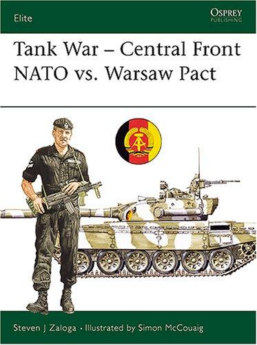 Tank War-Central Front (Elite Series No. 26), Steven Zaloga