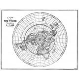 Photographic Print of FLAT EARTH