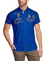 Redbridge Camisa Hombre (Azul Royal)