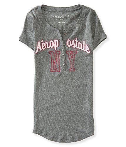 Aeropostale-Womens-Aero-Ny-Ribbed-Henley-Shirt