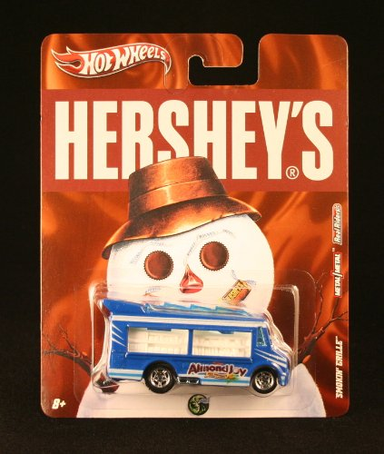 SMOKIN' GRILLE * ALMOND JOY * Hershey's Hot Wheels 2011 Nostalgia Series 1:64 Scale Die-Cast Vehicle - 1
