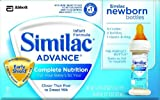 Similac Advance Newborn, Ready to Feed, 2-Fluid Ounces (Pack of 48) (Packaging May Vary)