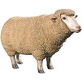 Design Toscano Merino Ewe Life Size Head Up Sheep Statue