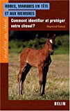 echange, troc Raymond Riancé - Robes, marques en tête et aux membres : Comment identifier et protéger votre cheval ?