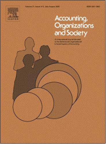 Reducing Conflict In Balanced Scorecard Evaluations [An Article From: Accounting, Organizations And Society]