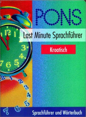 PONS Last Minute Sprachführer, Kroatisch